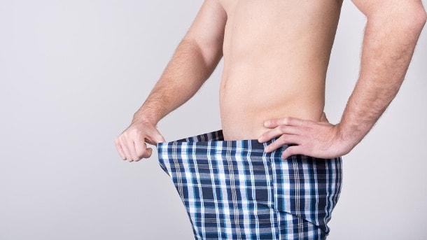 a pénisz hosszának csökkenése