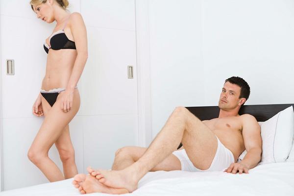 miért nincs erekció egy nővel